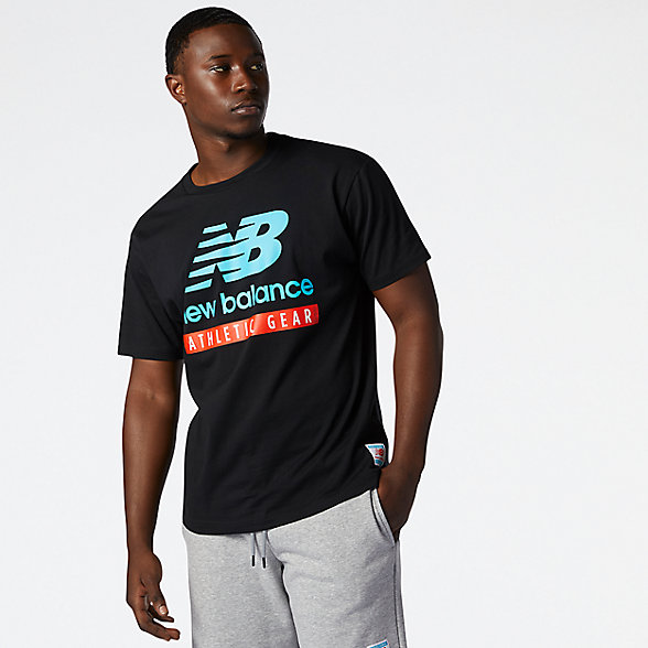 NB NB Essentials Logo Tee, MT11517BK