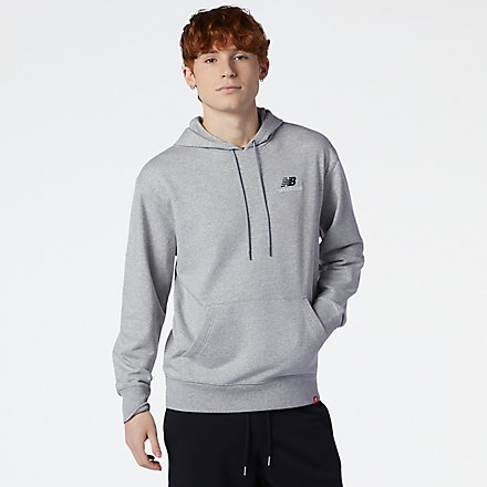 New Balance NB Essentials Embroidered Hoodie, MT11550AG image number null