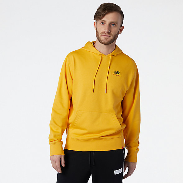 NB NB Essentials Embriodered Hoodie, MT11550ASE
