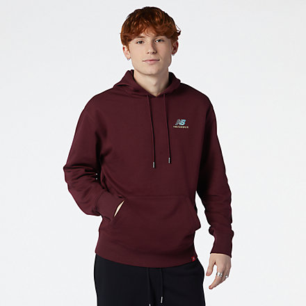 NB NB Essentials Embroidered Hoodie, MT11550NBY image number null