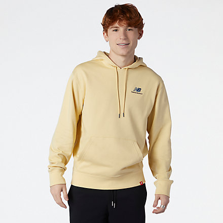 New Balance NB Essentials Embroidered Hoodie, MT11550PSW image number null
