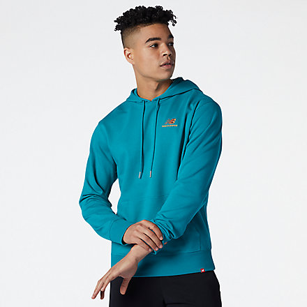 New Balance NB Essentials Embriodered Hoodie, MT11550TMT image number null