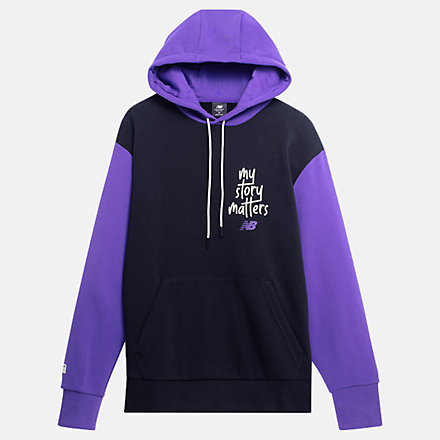 NB My Story Matters Hoodie, MT11574PRP image number null