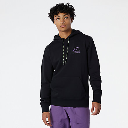 New Balance NB All Terrain Hoodie, MT11581BK image number null