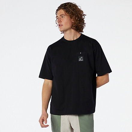 New Balance NB All Terrain Pocket Tee, MT11582BK image number null