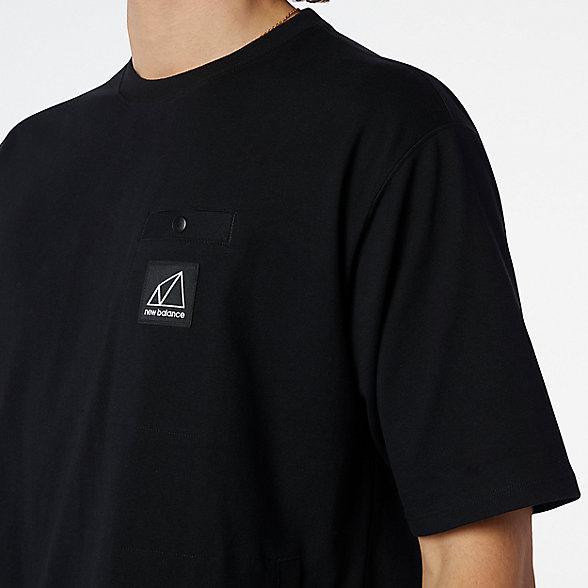 New Balance All Terrain系列男款短袖T恤, MT11582BK