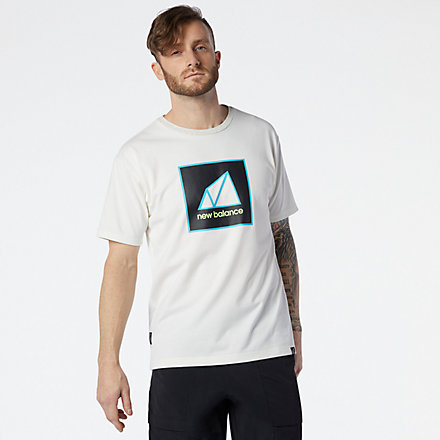 New Balance NB All Terrain Graphic Tee, MT11585SAH image number null