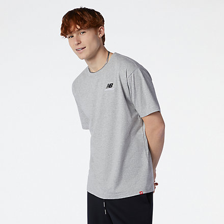 New Balance NB Essentials Embroidered Tee, MT11592AG image number null
