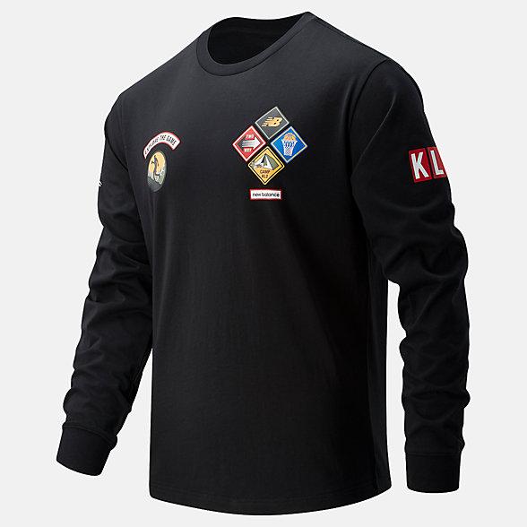 New Balance KL2篮球休闲系列男款套头卫衣, MT11610BK