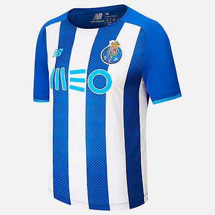 NB FC Porto Home Short Sleeve Jersey, MT130060HME image number null