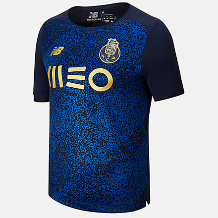New Balance FC Porto Away Short Sleeve Jersey, MT130088AWY image number null
