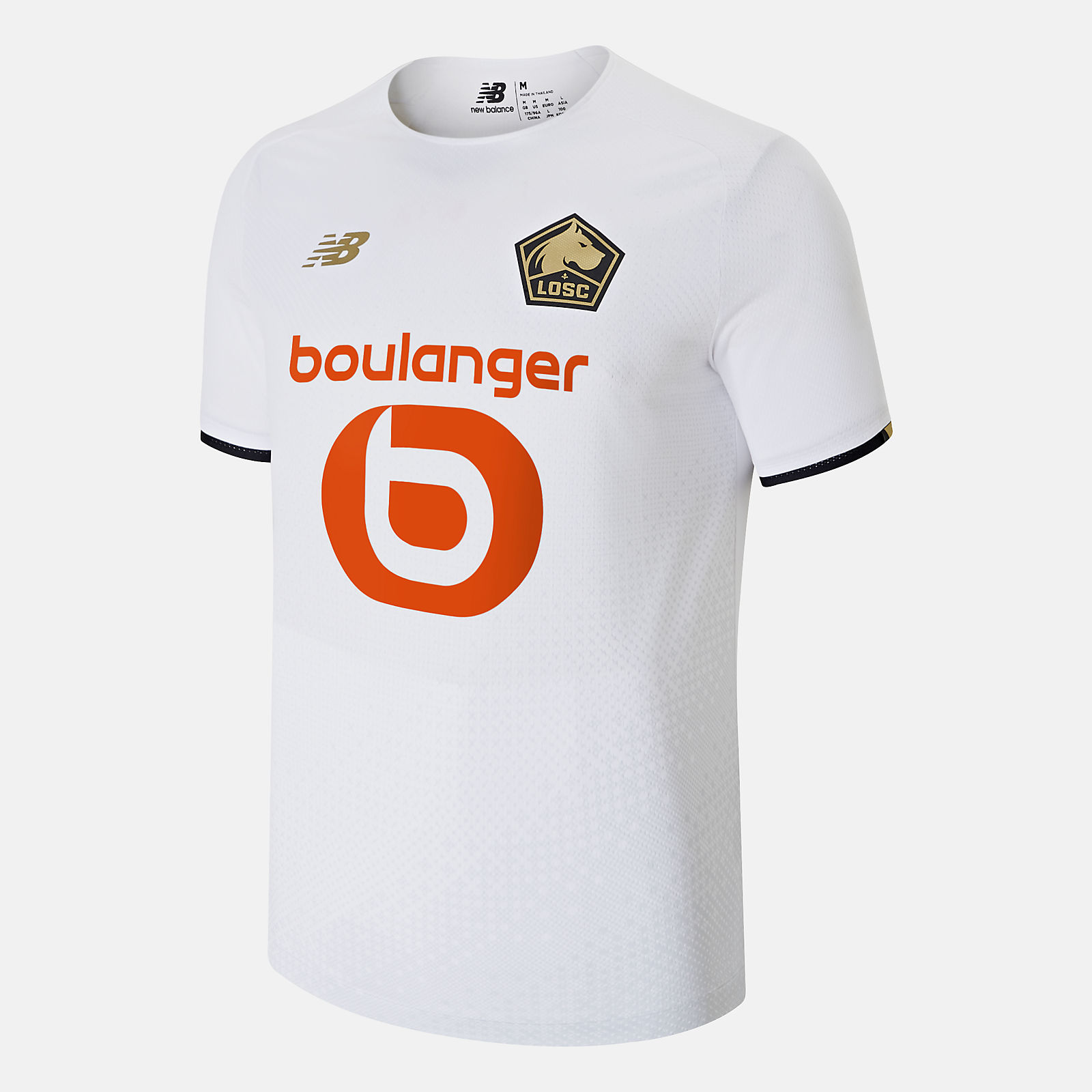 Lille LOSC Away Short Sleeve Jersey