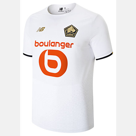 New Balance Lille LOSC Away Short Sleeve Jersey, MT130125AWY image number null