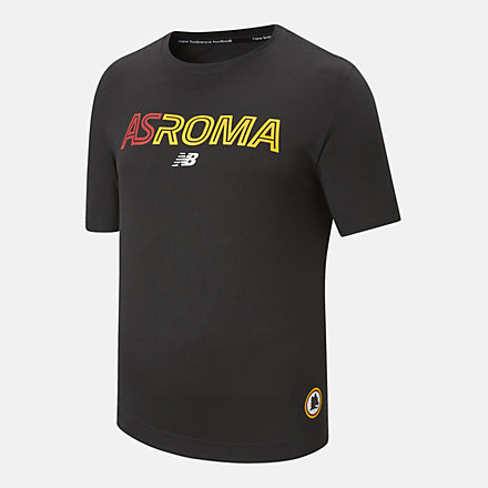 NB AS Roma Graphic Tee, MT131266BK image number null