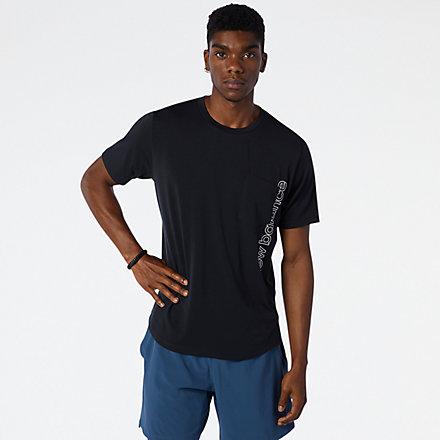 NB Fortitech Pocket T-Shirt, MT13150BK image number null