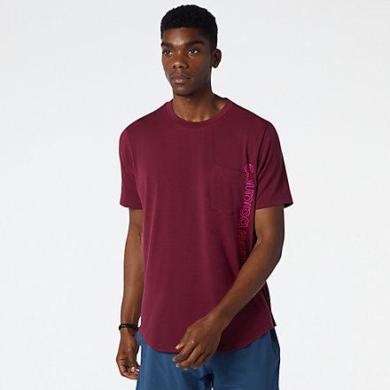 NB T-Shirt Fortitech Pocket, MT13150GNT image number null