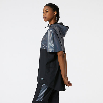 New Balance Syd Warm Up Poncho, MT13203BK image number null