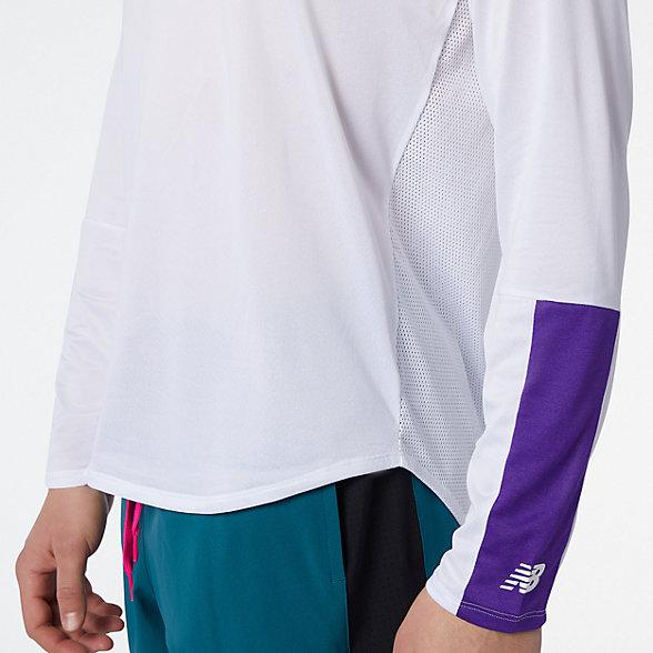 New Balance 男款冰感面料运动上衣, MT13239DVH