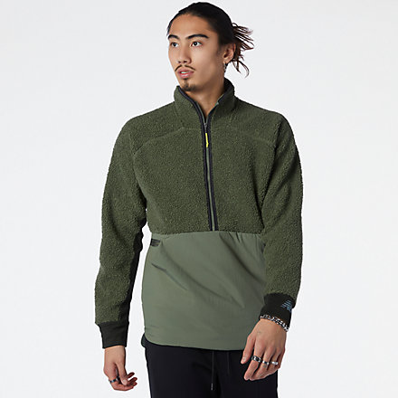 NB Q Speed Sherpa Anorak, MT13285NSE image number null