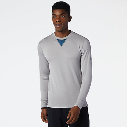 NB Q Speed 1Ntro Long Sleeve, MT13290AG image number null