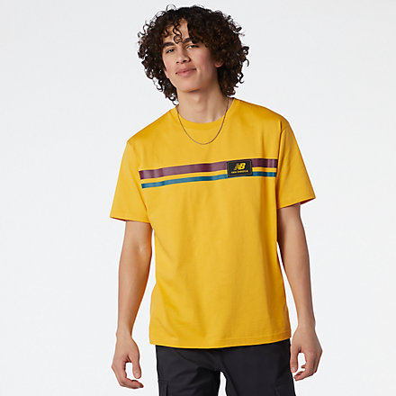 New Balance NB Athletics Higher Learning Badge Tee, MT13501ASE image number null