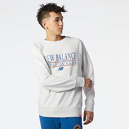New Balance NB Essentials Athletic Club Crew, MT13520SAH image number null