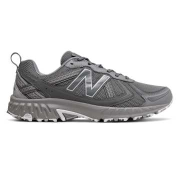 New Balance 410 V5系列男女同款復古運動鞋, 灰色