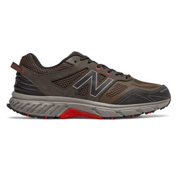 New Balance 510v4 Trail, Chocolate with Black & Team Red