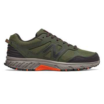 New Balance 510v4 Trail, Dark Covert Green with Phantom & Bengal Tiger