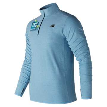 New Balance United Airlines NYC Half Finisher N Transit Quarter Zip, Clear Sky
