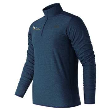 New Balance NYC Marathon Training N Transit Quarter Zip, Pigment