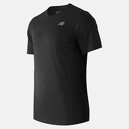 New Balance Accelerate Short Sleeve, MT53061BK image number null