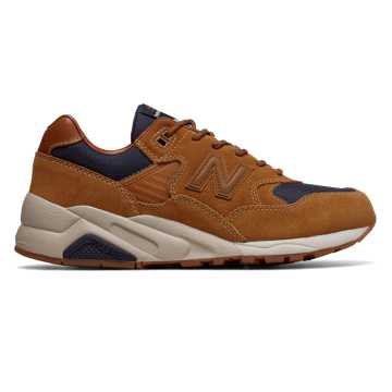 New Balance 580, Brown with Dark Cyclone