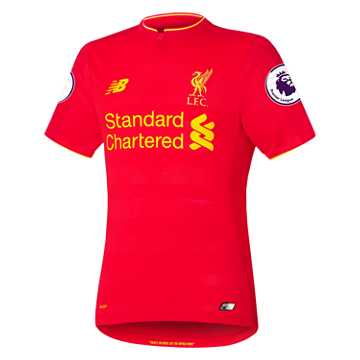 New Balance LFC Mens Home SS Elite Jersey, High Risk Red