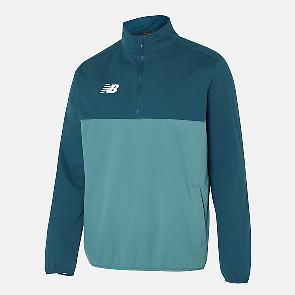 New Balance Tech Training Half Zip Windblocker, MT630143TNO