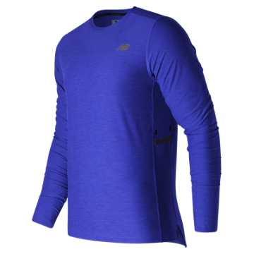New Balance N Transit Long Sleeve Top, Team Royal
