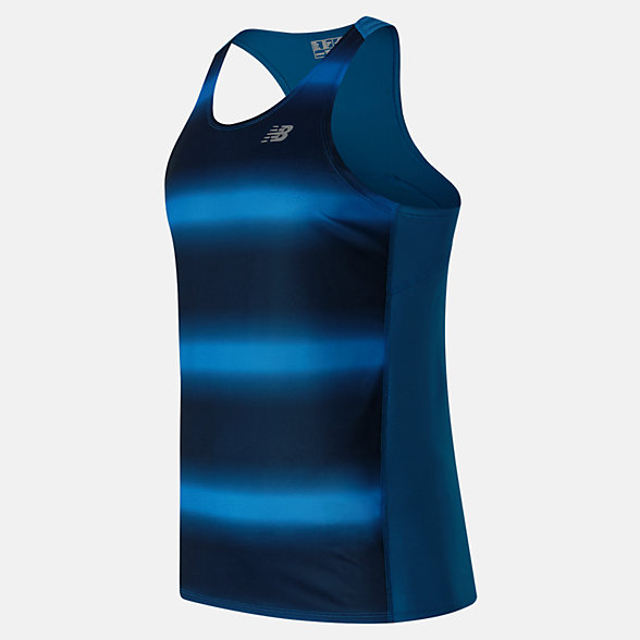New Balance Accelerate Graphic Singlet, MT63067BDA