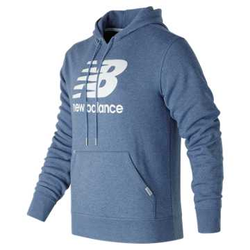 New Balance Classic Pullover Hoodie, Deep Porcelain Heather
