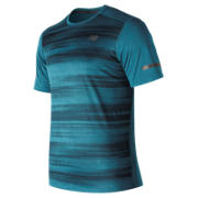 New Balance Max Intensity Short Sleeve, Moroccan Blue