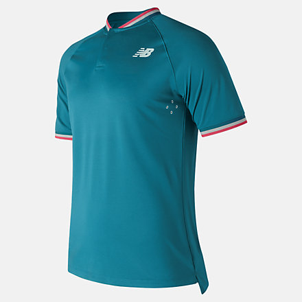 New Balance Tournament Henley, MT71404LAK image number null