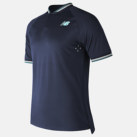 New Balance Tournament Henley, MT71404PGM image number null