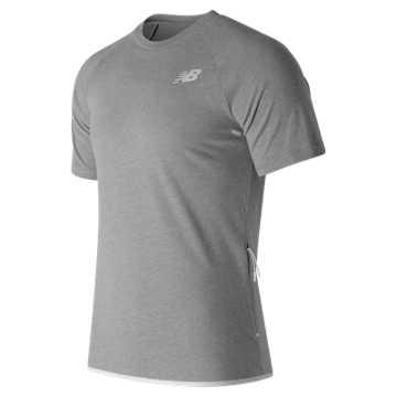 New Balance 247 Tech Tee, Athletic Grey