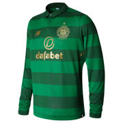 NB CFC Away Long Sleeve Shirt, Verdant Green