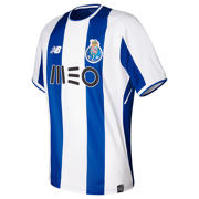 NB FC Porto Mens Home Short Sleeve Shirt , Oporto Blue