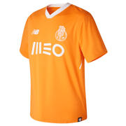 NB FC Porto Mens Away Short Sleeve Shirt, Flame Orange
