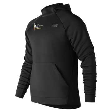 New Balance NYC Marathon Finisher Game Changer Elite Hoodie, Black