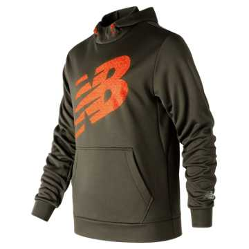 New Balance Game Changer Fleece Hoodie, Military Dark Triumph