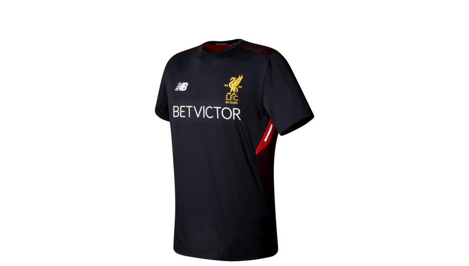 LFC Mens Elite Training Motion Short Sleeve Shirt