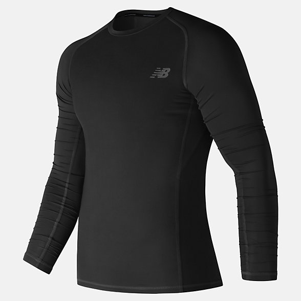 New Balance Challenge Long Sleeve, MT73036BK