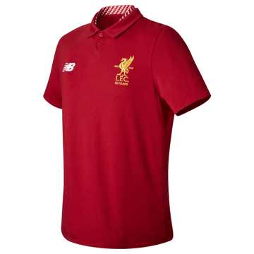New Balance LFC Elite Media Motion Polo, Red Pepper